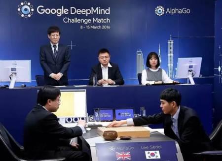 AlphaGo melawan Lee Se-dol dalam permainan Go. - Google DeepMind