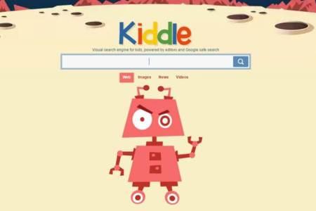 Kiddle.co, mesin pencarian khusus untuk anak-anak. - Rain Rochim/Mzochim